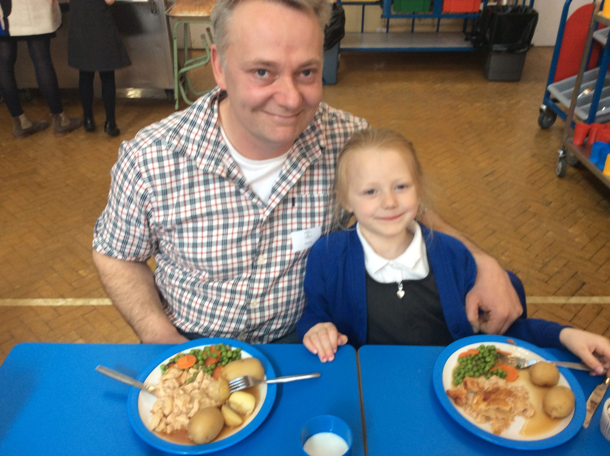 EYFS Parent Lunches