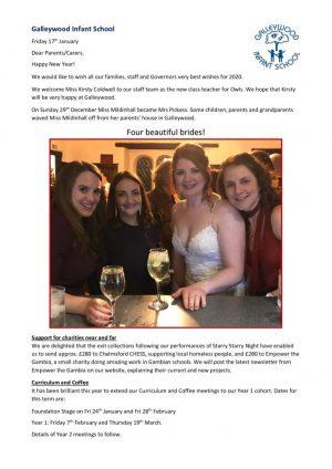Newsletter - 17th January 2020